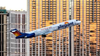 N423NV - Allegiant Air McDonnell Douglas MD-81