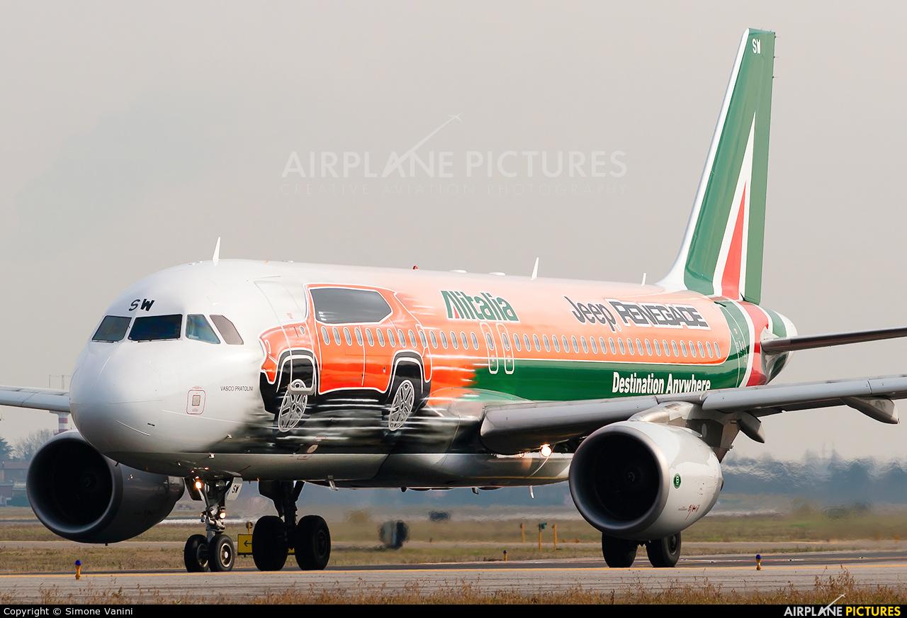 Alitalia EI-DSW aircraft at Bologna - Borgo Panigale