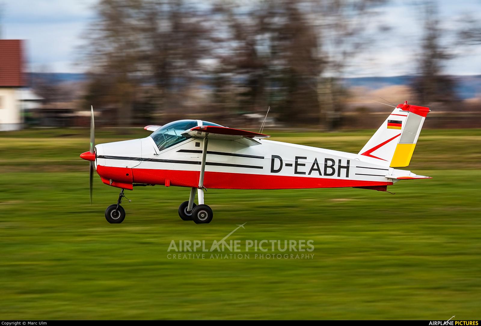 Private D-EABH aircraft at Günzburg-Donauried