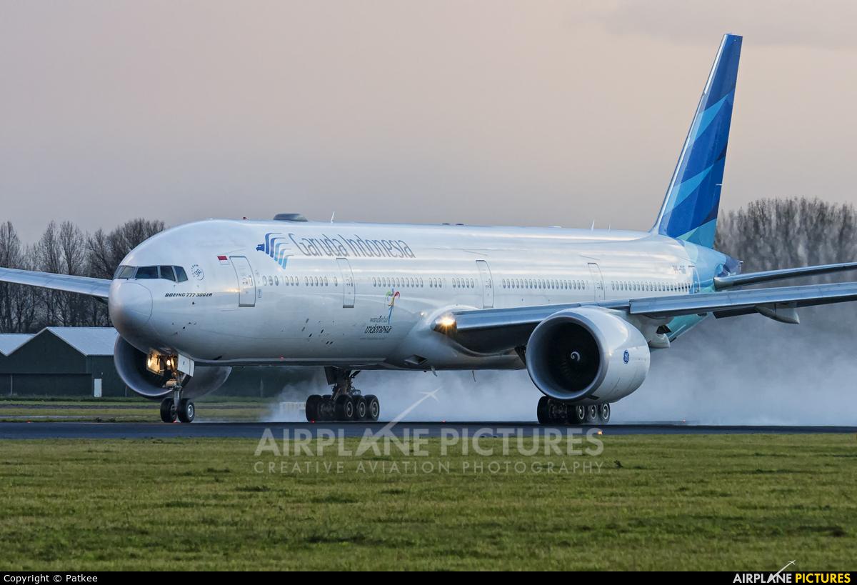 Garuda Indonesia PK-GIF aircraft at Amsterdam - Schiphol