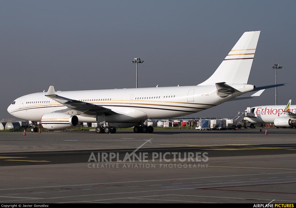Mid East Jet VP-CAC aircraft at Addis Ababa - Bole Int