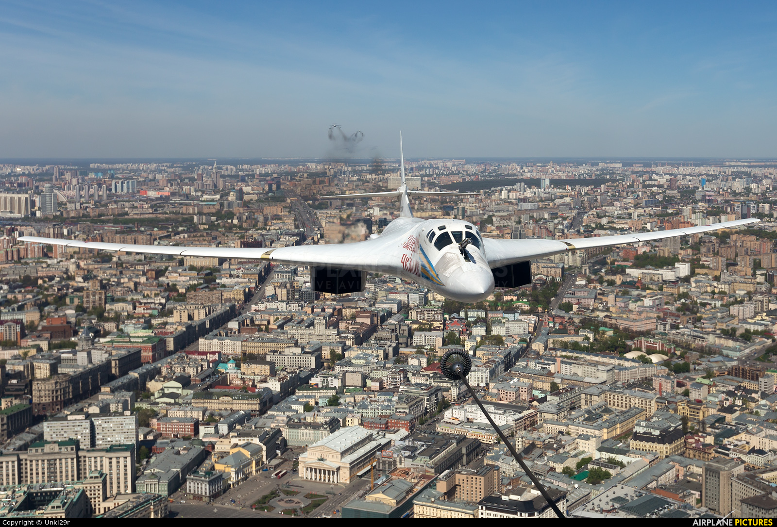 Russia - Air Force RF-94110 aircraft at In Flight - Russia
