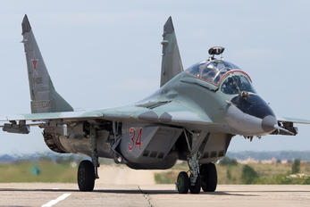 34 - Russia - Air Force Mikoyan-Gurevich MiG-29UB