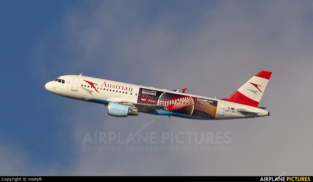 Austrian Airlines/Arrows/Tyrolean OE-LBS aircraft at Amsterdam - Schiphol