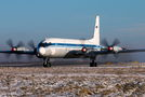 Rare visit of Russian Navy Il-20 to Moscow - Ostafyevo