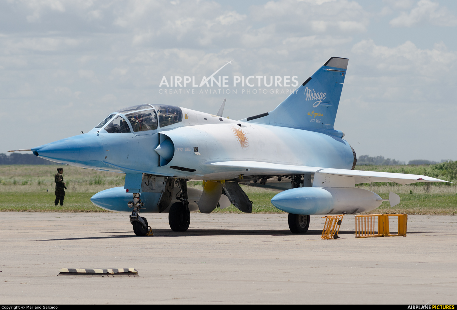 Argentina - Air Force I-002 aircraft at Tandil