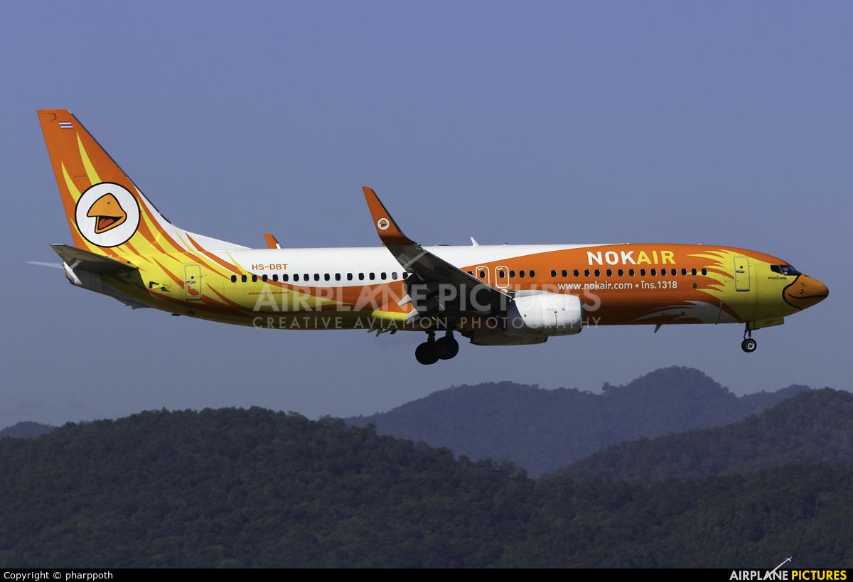 Nok Air HS-DBT aircraft at Chiang-Mai