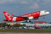 9M-AJK - AirAsia (Malaysia) Airbus A320 aircraft