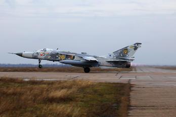 59 YELLOW - Ukraine - Air Force Sukhoi Su-24MR
