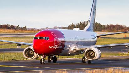 LN-NOZ - Norwegian Air Shuttle Boeing 737-800