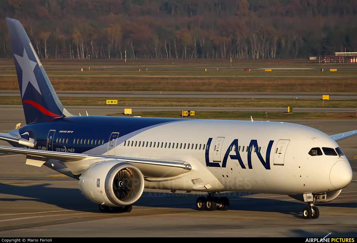 LAN Airlines CC-BBH aircraft at Milan - Malpensa