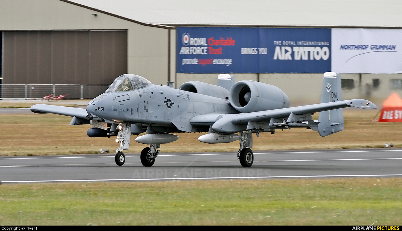 USA - Air Force 78-0651 aircraft at Fairford