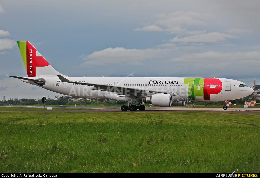 TAP Portugal CS-TOO aircraft at Porto Alegre - Salgado Filho