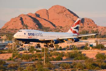 G-CIVM - British Airways Boeing 747-400
