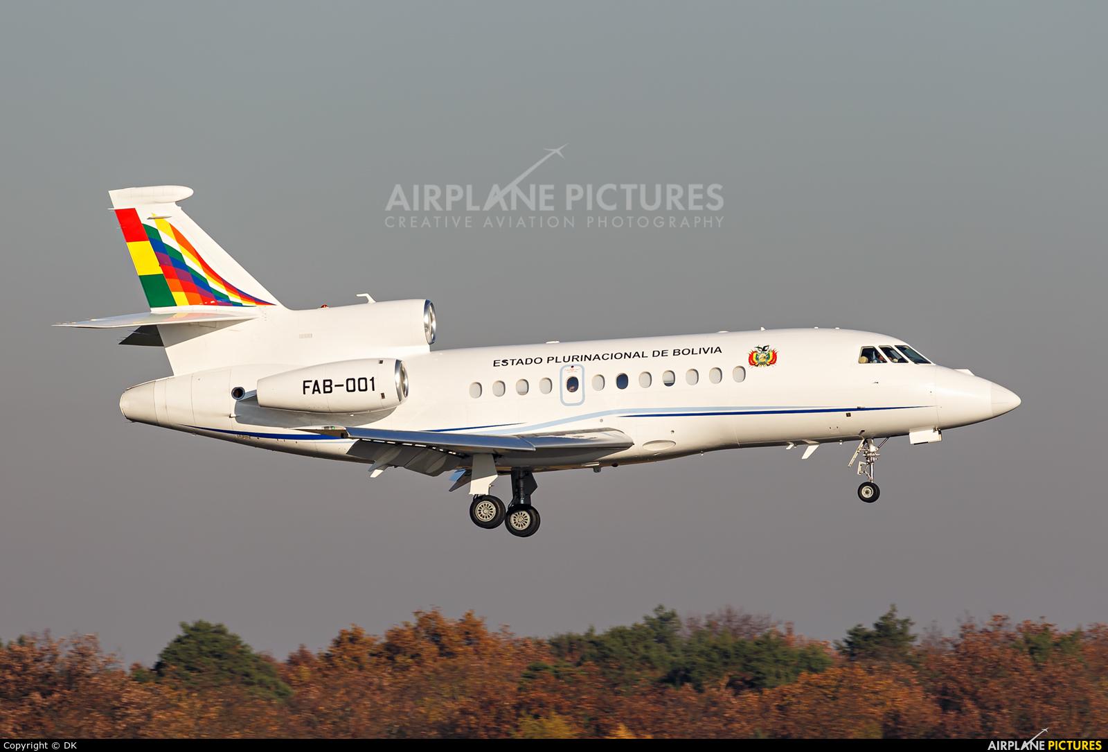 Bolivia - Government FAB-001 aircraft at Berlin - Tegel