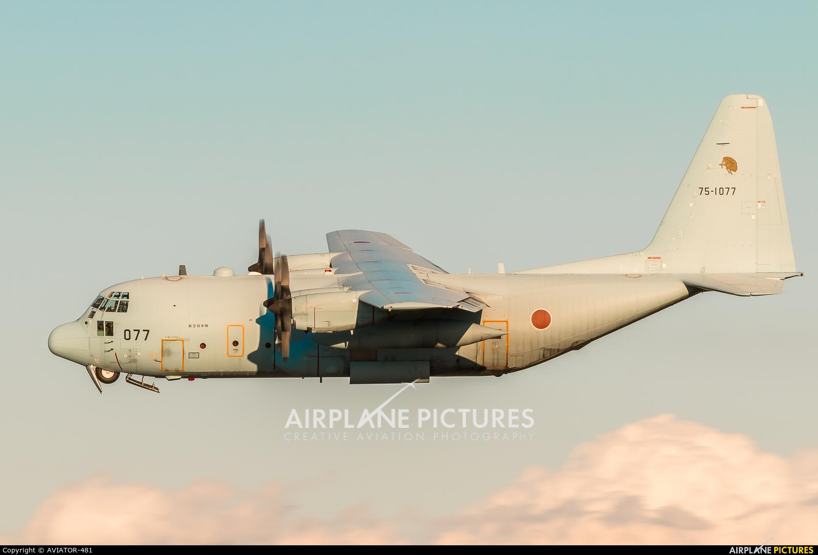 Japan - Air Self Defence Force 75-1077 aircraft at Iruma AB