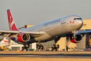 G-VBLU - Virgin Atlantic Airbus A340-600 aircraft