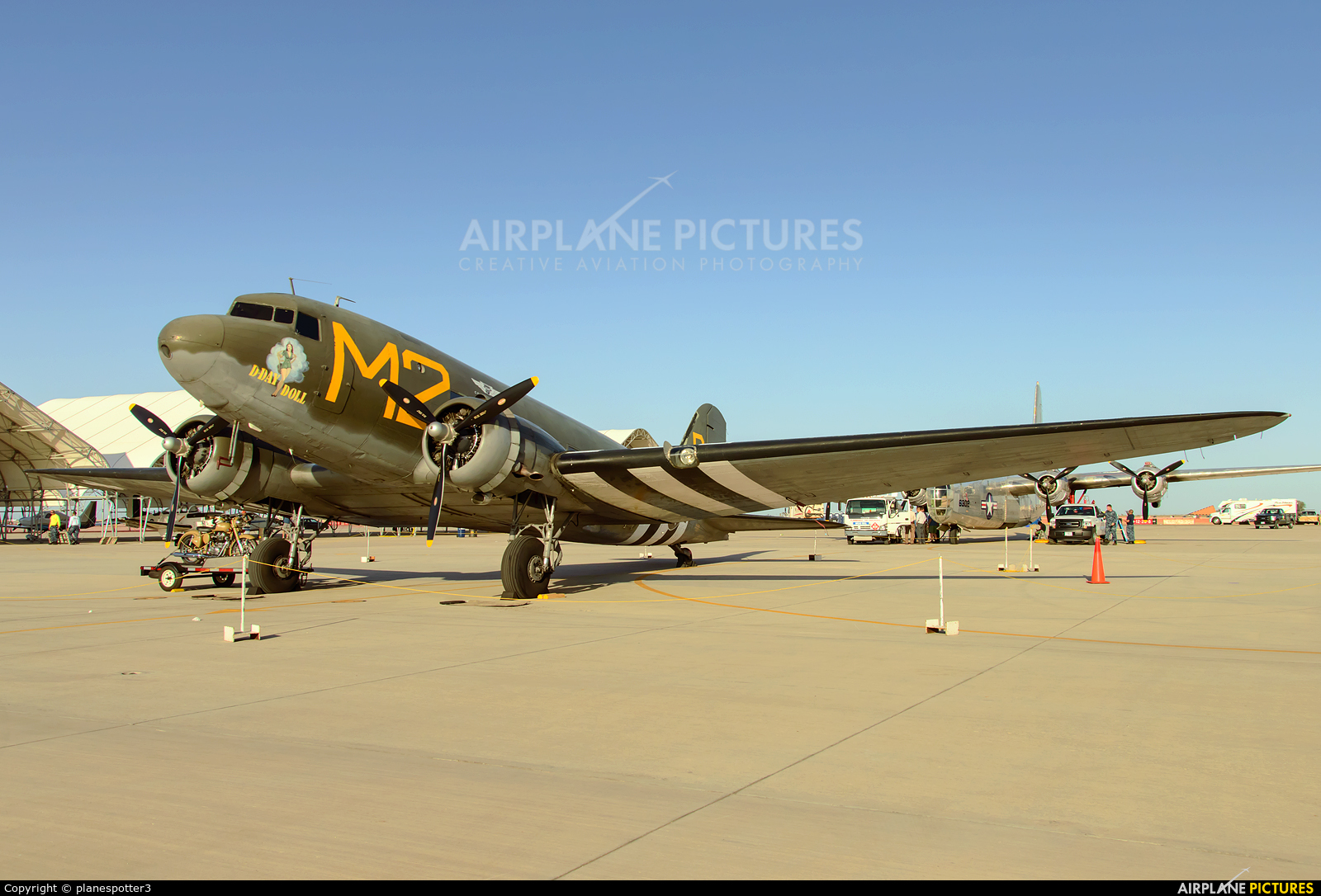 American Airpower Heritage Museum (CAF) N45366 aircraft at El Centro NAS