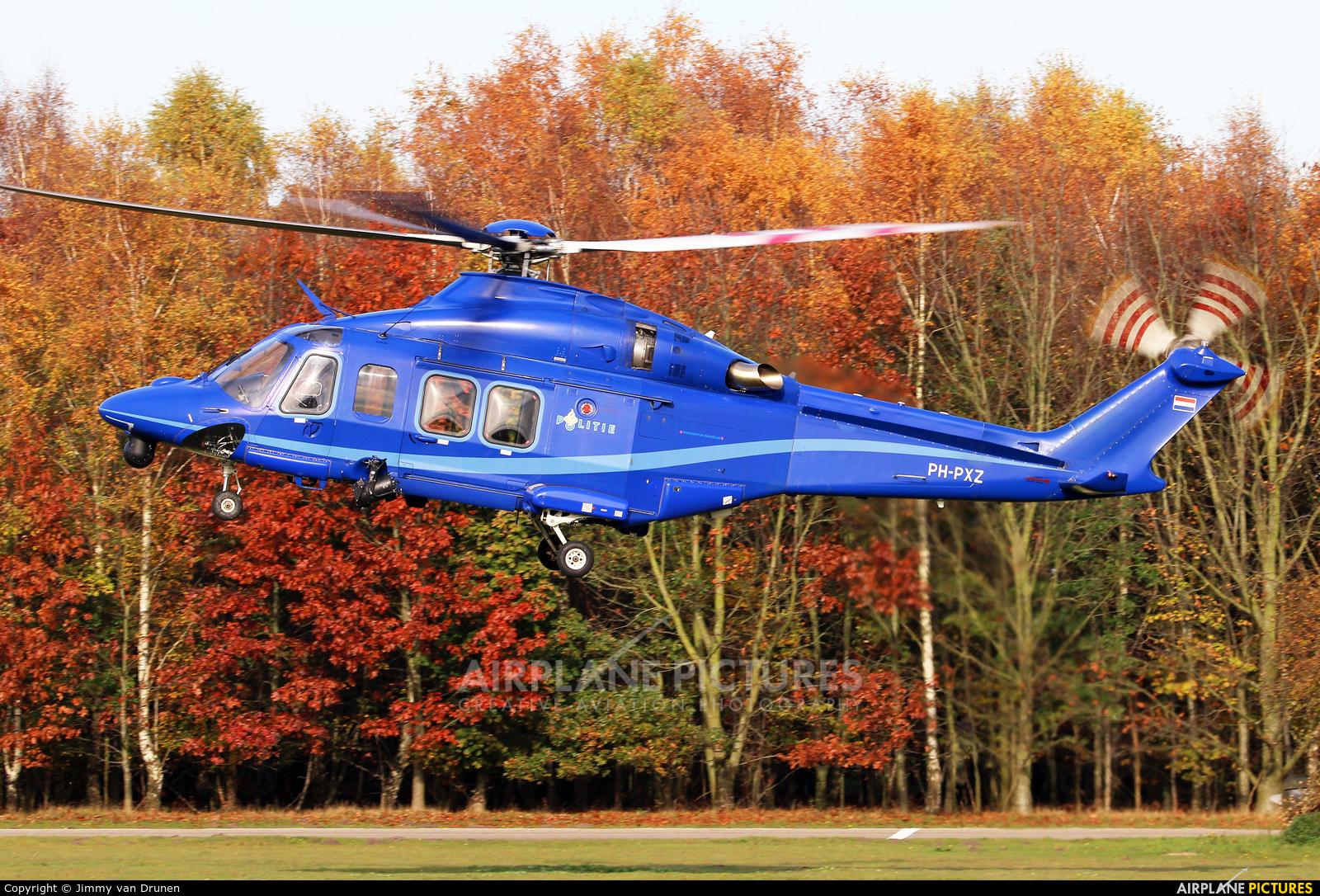 Netherlands - Police PH-PXZ aircraft at Gilze-Rijen