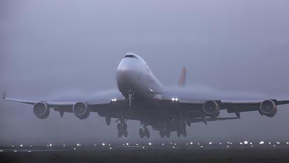 N904AR - Centurion Air Cargo Boeing 747-400F, ERF
