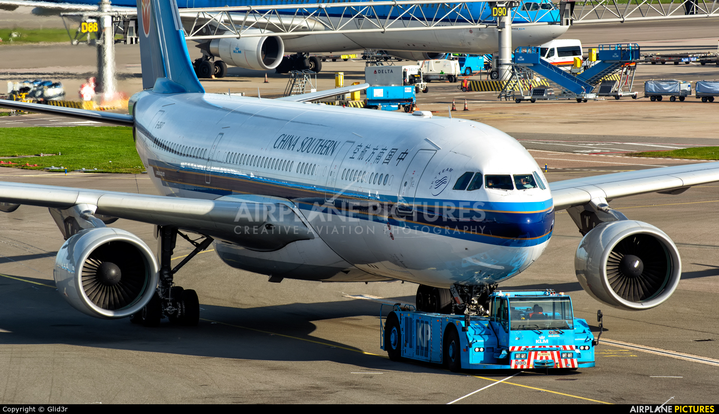 China Southern Airlines B-6547 aircraft at Amsterdam - Schiphol