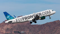 N220FR - Frontier Airlines Airbus A320 aircraft
