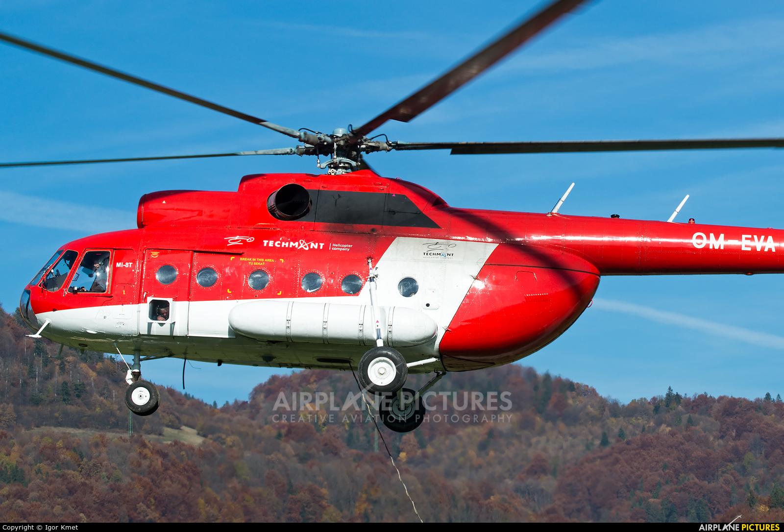 Techmont OM-EVA aircraft at Off Airport - Slovakia