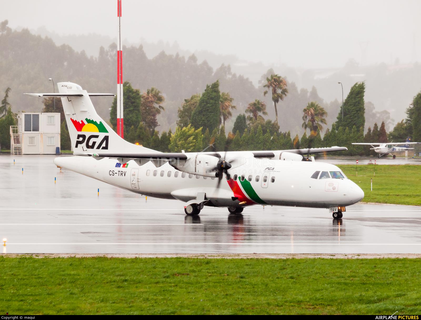 PGA Portugalia CS-TRV aircraft at La Coruña