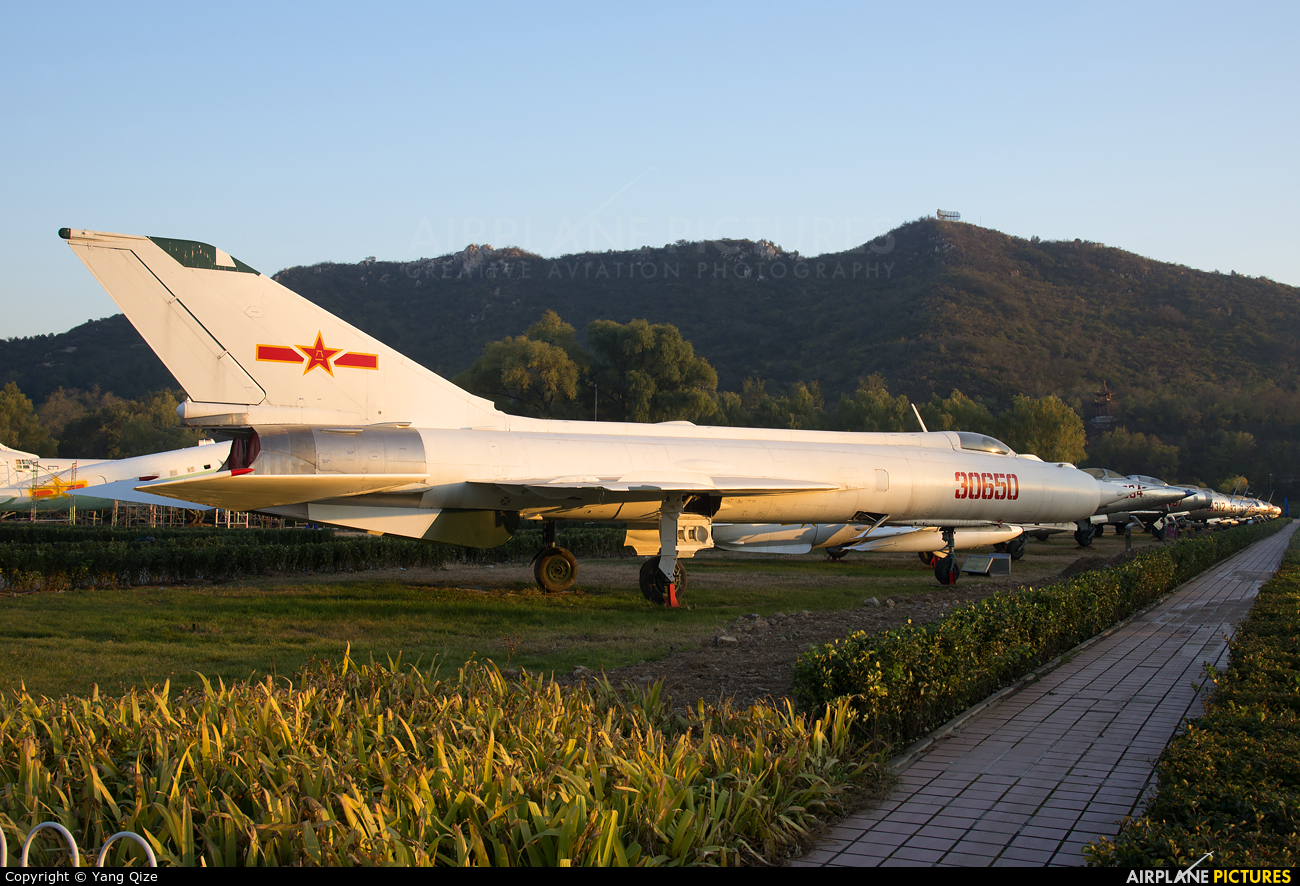 China - Air Force 30650 aircraft at Datangshan