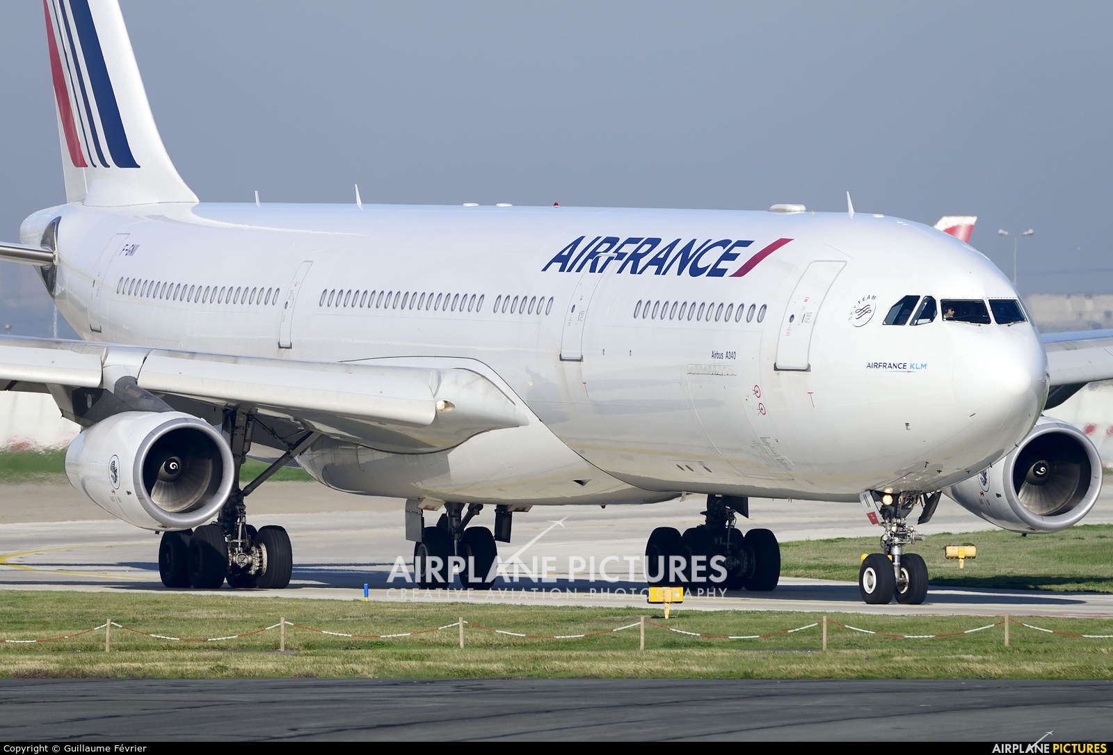 Air France F-GNII aircraft at Paris - Orly