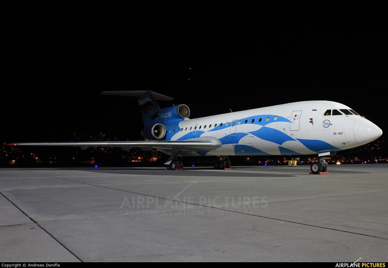 Grozny Avia RA-42365 aircraft at Innsbruck