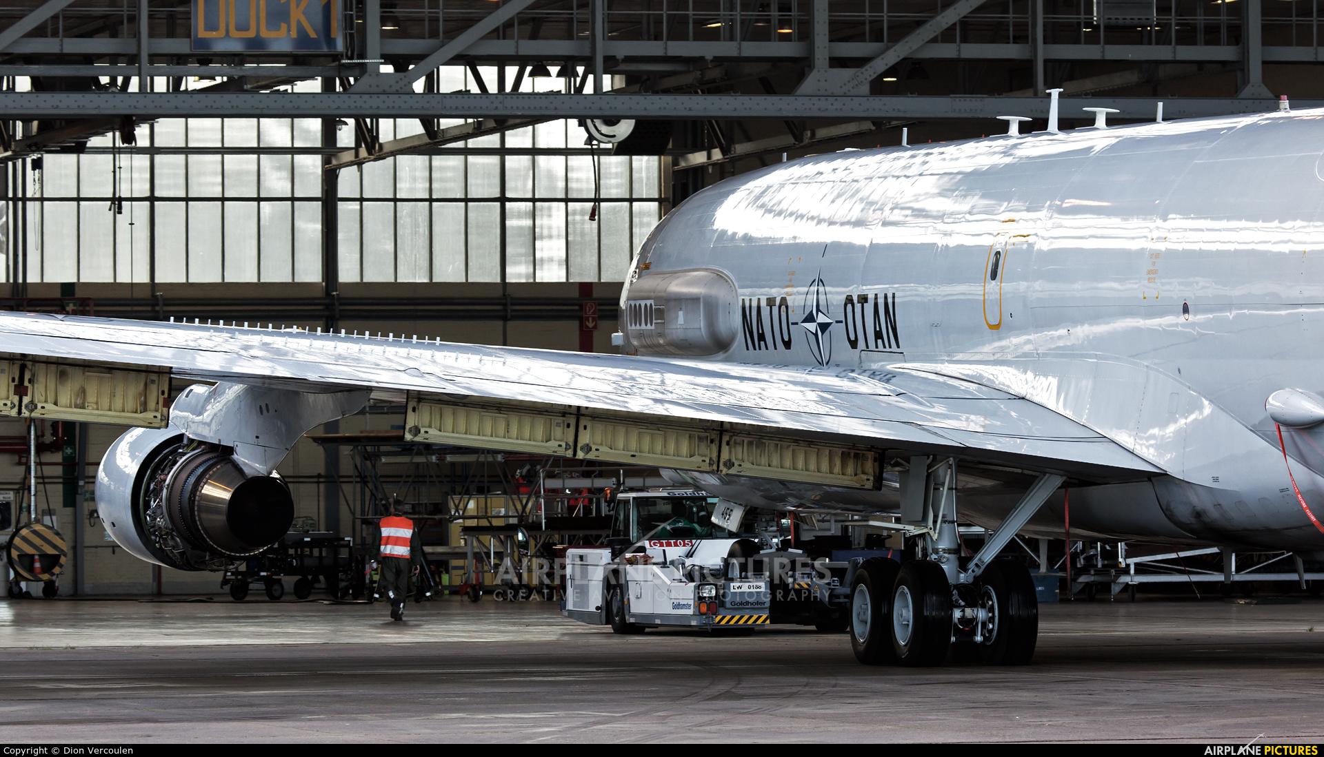 NATO LX-N90455 aircraft at Geilenkirchen
