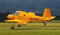 OM-HJV - Techmont Zlín Aircraft Z-37A Čmelák aircraft