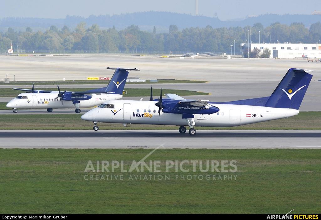 Intersky OE-LIA aircraft at Munich