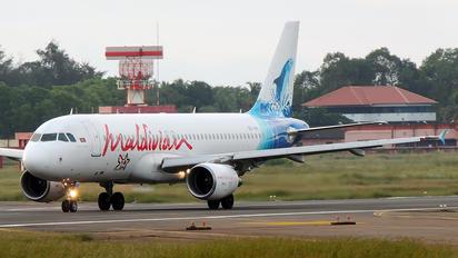 8Q-IAN - Maldivian Airbus A320