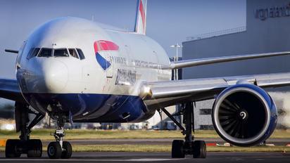G-VIIA - British Airways Boeing 777-200