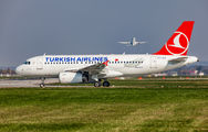 TC-JLN - Turkish Airlines Airbus A319 aircraft