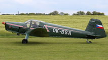 OK-BSA - Private Zlín Aircraft Z-381 aircraft