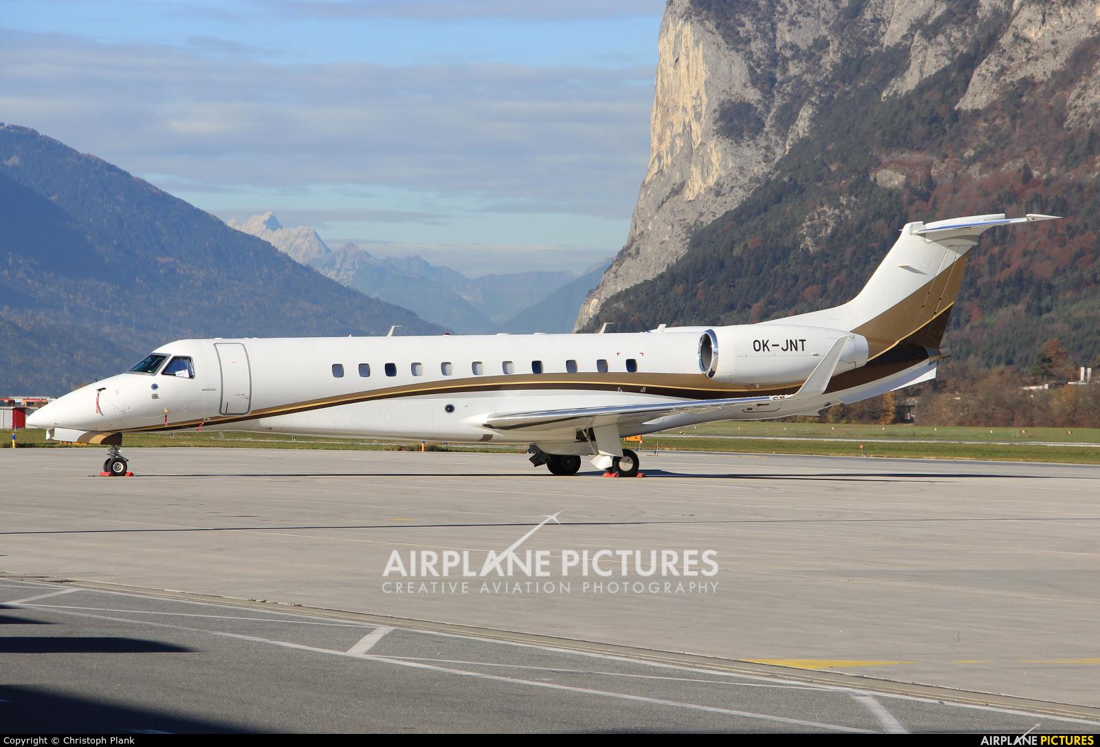 ABS Jets OK-JNT aircraft at Innsbruck