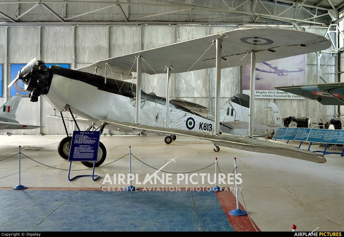 India - Air Force K813 aircraft at Off Airport - India