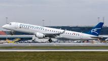 4O-AOB - Montenegro Airlines Embraer ERJ-190 (190-100) aircraft