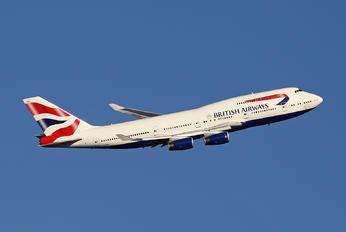 G-BYGB - British Airways Boeing 747-400