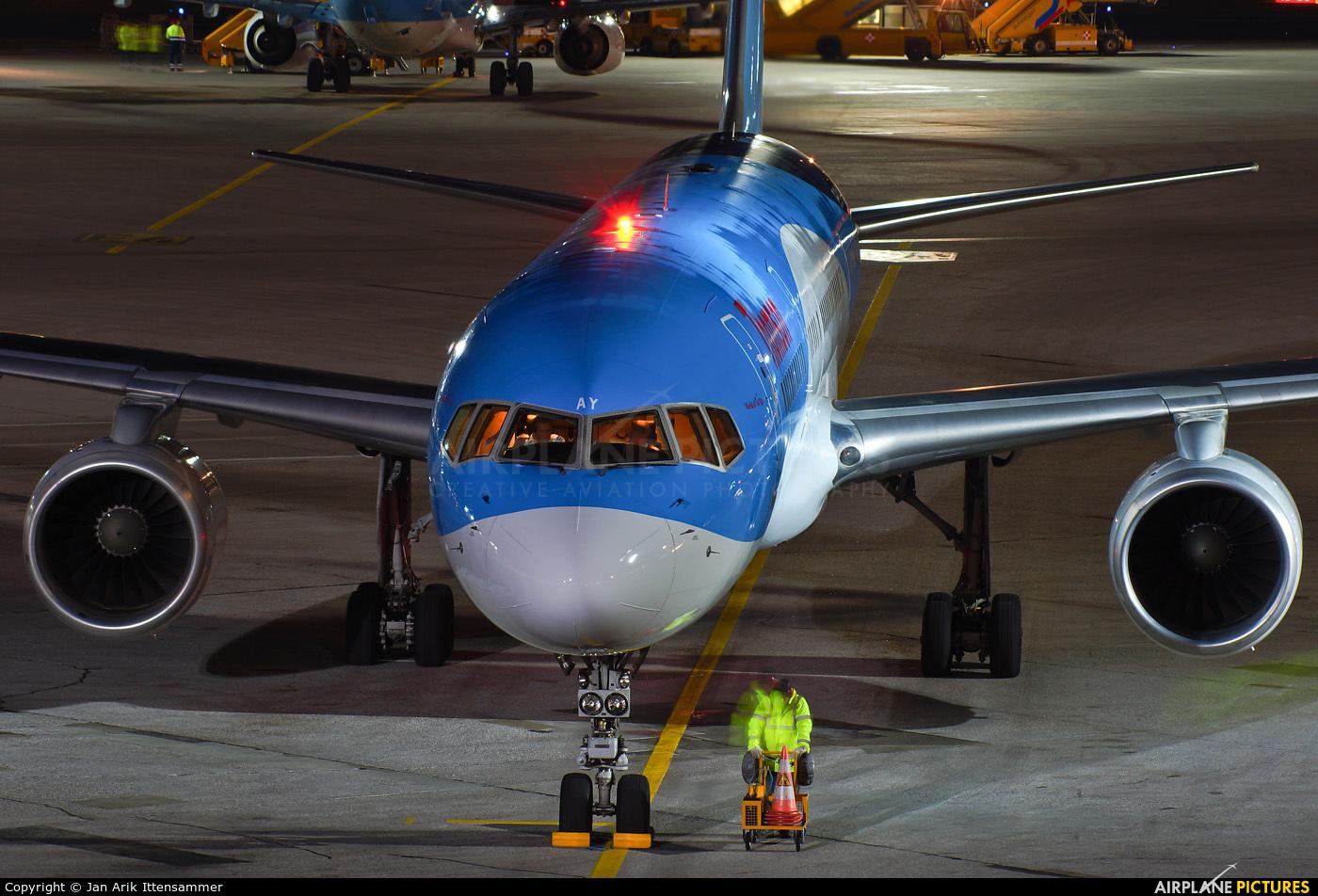Thomson/Thomsonfly G-BYAY aircraft at Salzburg