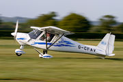 G-CFAV - Private Ikarus (Comco) C42 aircraft