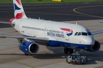 G-EUPV - British Airways Airbus A319