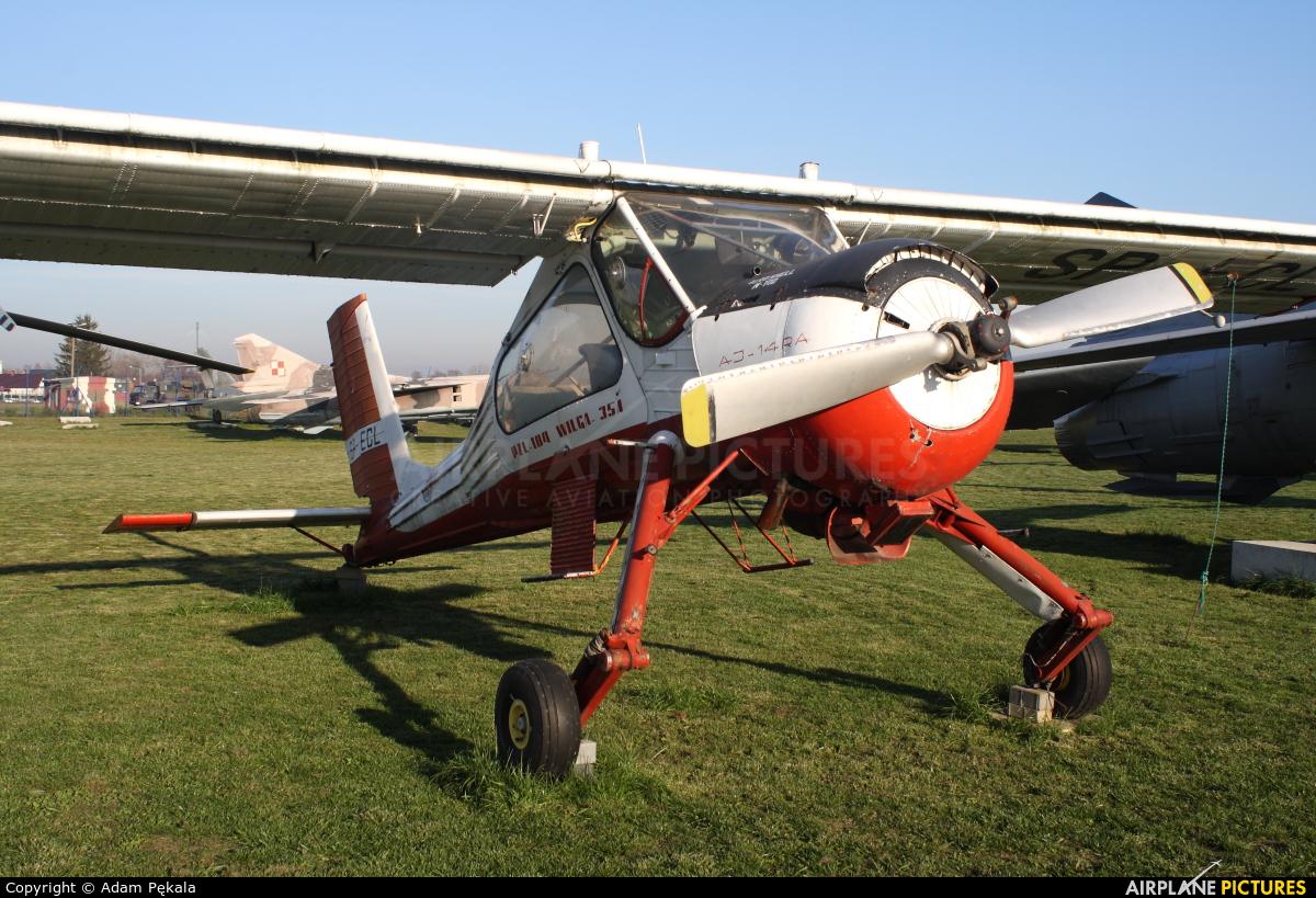 Aeroklub Orląt SP-ECL aircraft at Dęblin - Museum of Polish Air Force