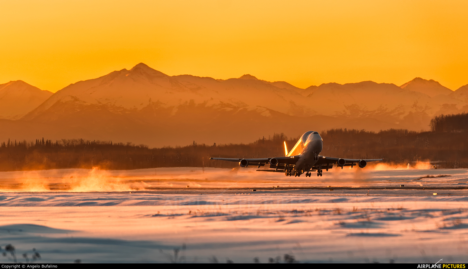 Boeing Company N249BA aircraft at Anchorage - Ted Stevens Intl / Kulis Air National Guard Base