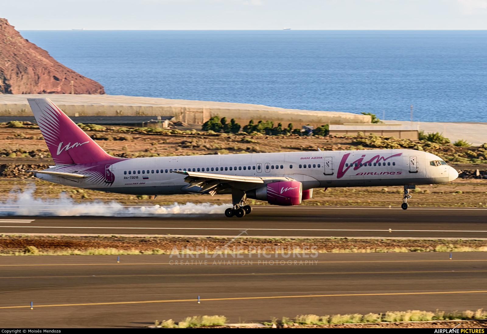Vim Airlines RA-73018 aircraft at Tenerife Sur - Reina Sofia