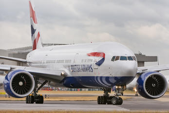 G-VIIX - British Airways Boeing 777-200