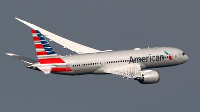 N802AN - American Airlines Boeing 787-8 Dreamliner